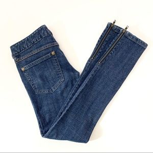 Free People Skinny Ankle Jeans Size 25